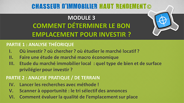 Module3-Chasseur Formation Immobilier