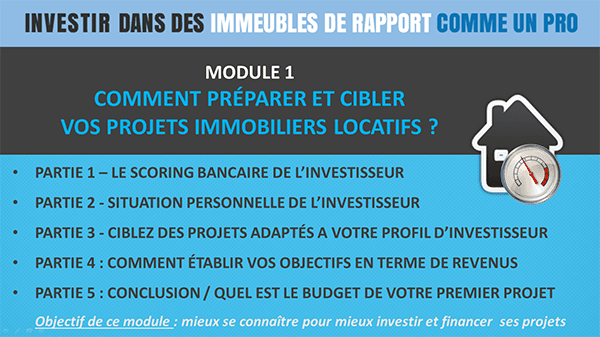Module1-immeubles Formation Immobilier