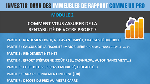 Module2-immeubles Formation Immobilier