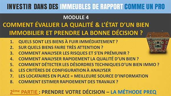 Module4-immeubles Formation Immobilier