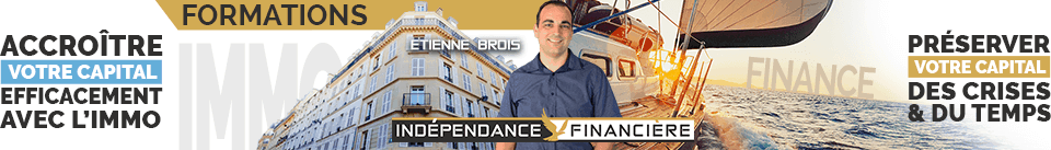 Formations Indépendance Financière – Etienne BROIS