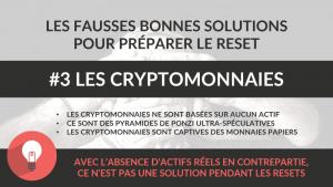 bitcoin et cryptomonnaies - fausse bonne solution