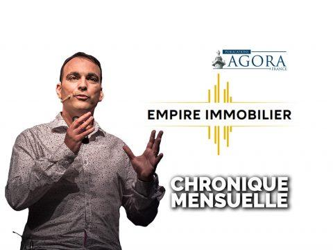 """Chronique mensuelle """"EMPIRE IMMOBILIER"""" (Lettre)"""