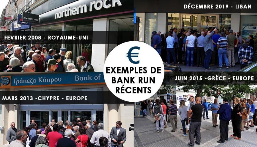 bank run chypre banque perte
